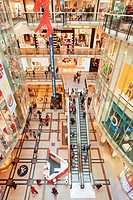 Czech republic, Prague, palladium, shopping mall, activity, architecture, building, business, buy, center, city, clothing, colour, commerce, commercia...