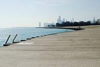 Shore of Lake Michigan, Lake View Chicago