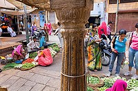 Bathia market,Jaisalmer,Rajasthan, India