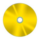 Compact discs isolated against a white background