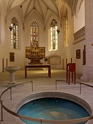 Baptismal font, St. Peter and Paul Church, Eisleben, Saxony_Anhalt Germany
