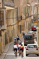 Cyclists, Sencelles, Mallorca, Balearics Spain