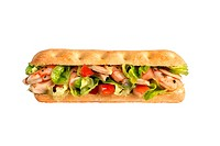 Prawn and tuna sandwich