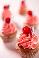 Cup cake _ Raspberry flavor