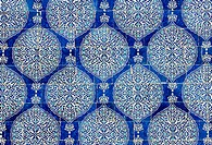 Tiled background, oriental ornaments from Uzbekistan Tiled backg