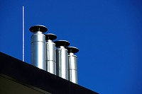 Pipes and sky