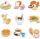 various dessert