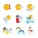 A variety of weather