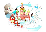 Attractions of Russia