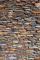 Spain, Background of stone wall