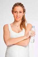 Healthy pregnant woman