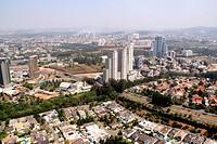 Aerial view, São Paulo, Brazil