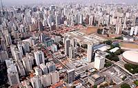 Aerial view, Jardim Paulista, São Paulo, Brazil