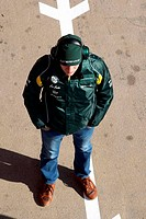 21.02.2012 Barcelona, Spain, Vitaly Petrov RUS, Caterham F1 Team _ Formula 1 Testing, day 1 _ Formula 1 World Championship