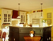 View of a lovely residential kitchen