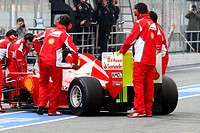 Fernando Alonso ESP, Scuderia Ferrari, F2012 ,F1,Testing Barcelona, Spain ,Barcelona .