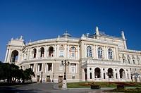 Ukraine, Odessa. Historic Odessa Opera House & Theater, neo_baroque Italian style, circa 1887.