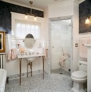 Small Victorian style bathroom remodel