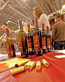 USA, Washington, Anacortes. Anacortes Spring Wine Festival featured over 30 wineries like Camaraderie Cellars rand six restaurants.