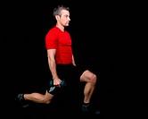 Athlet beim Fitnesstraining