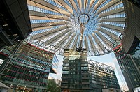 The Sony Center in Berlin, Germany