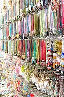 many jewel bracelets in an outlet