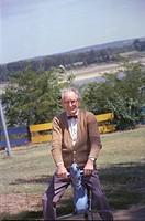 Frank Geiger, a senior citizen and grandfather of photographer Joseph Sohm