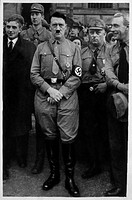 Adolf Hitler in Braunschweig, Germany, 1931
