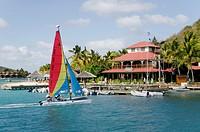 Bitter End Yacht Club  Virgin Gorda Island  British Virgin Islands.