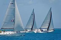 Sailboat regattas  British Virgin Islands.