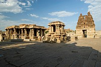 The construction of Vittala temple started during the reign of King Krishna Deva Raya in the year 1513 AD  The project was so colossal that the additi...