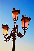 Italy, Venice, Place San Marco, Lamp Post