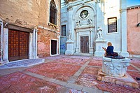 Italy, Venice: Cannaregio, valverde church