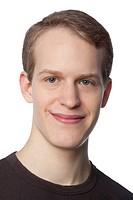 Smiling Caucasian man