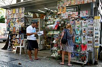 News stand, Rio de Janeiro, Brazil, South America