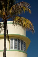 Classic building in the art deco district, south beach, miami, florida, united states of america