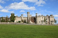 Bodelwyddan Castle, Denbighshire, Wales, North Wales, United Kingdom, Europe