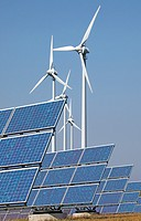 Germany, Solar panels and wind turbines, Composing