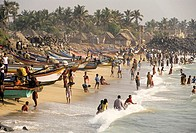 Vaithi Beach,Bay of Bengal,Coromandel Coast, Pondicherry,Puducherry,Union Territory of India