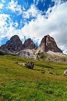 Langkofel _ Sassolungo mountain