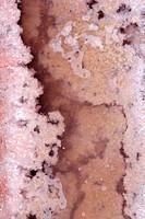 Ses Salines Formentera saltworks salt texture