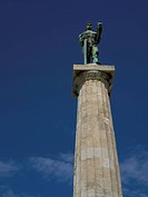 The Victor, Landmark symbol of Belgrade, Serbia