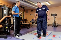Reportage in the Institut Pasteur´s sports medicine centre in Lille, France. Sports medicine workshop for the prevention of cardiovascular diseases. P...