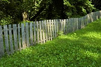 Wood Fence, Ephraim Bales Place, Great Smoky Mtns NP, TN