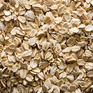 Closeup of oats