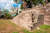 Maya ruins of Lubaantum, Belize.