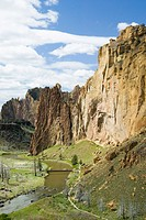 Smith Rock State Park in Oregon USA