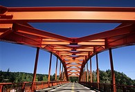 Red Bridge, Pioneer Park, La Conner, Washington