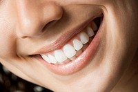 Close_up of smile