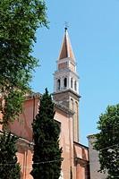 Belfry, Chiesa di San Francesco dell Vigna, Venice, Venezia, Veneto, Italy